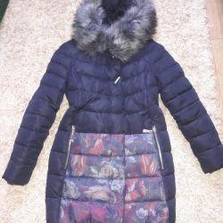 Down jacket winter 44-46 size