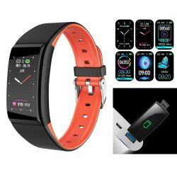 🔥 Akıllı Saat Bilezik B86 IPS USB 140mAh Yeni