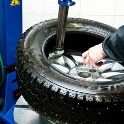 Tekerlek çarpması, lastik montajı