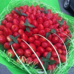 Μπουκέτο με φράουλες