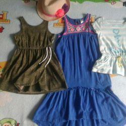 Dresses, sarafans, Tshirts OshKosh