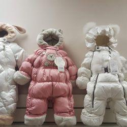 New winter overalls