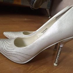 Wedding shoes, 37.5 size