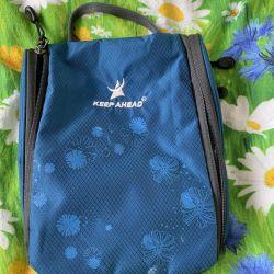 Seyahat kozmetik çantası