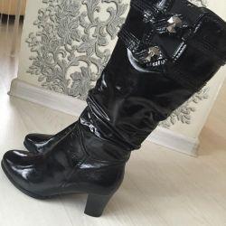Нові чоботи натуральні зимові