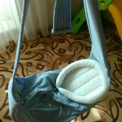 Carrying carrycot sling