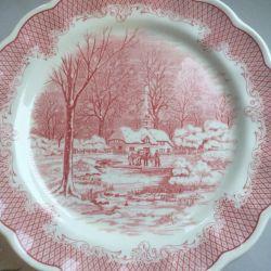 Plates . Italy