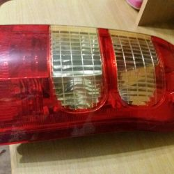 Stop headlight on the Toyota Sussed right