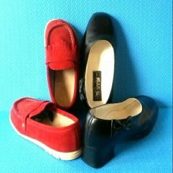 Shoes 2 pairs: p. 32-33 and p. 35