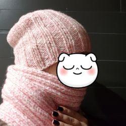 Καπέλο + Κασκόλ) Σετ