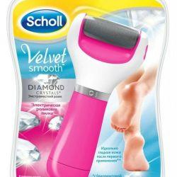 Αρχείο Scholl Velvet λουλούδι Diamond Crystal Ροζ
