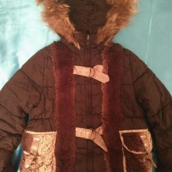 Jacket for the girl 128/134
