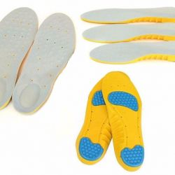 NEW sports insoles with cushioning p.34-36