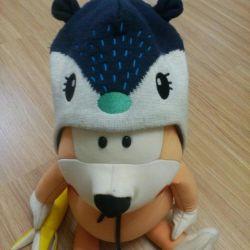 Идеальная шапка lassie 9 мес - 1,5 года