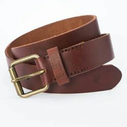 Belt new from nature. Skin