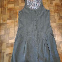 Velveteen dress 152, Germany new