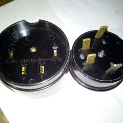 Plug + socket 3 f + ground