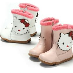 All-weather boots hello kitty boots new