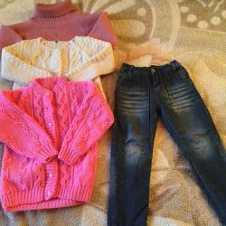 Sweaters and jeans 104 рр