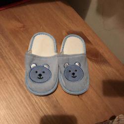 Children's soft slippers