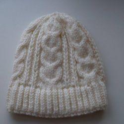 Örme şapka el yapımı