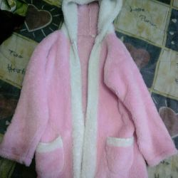 Dressing gown on the girl