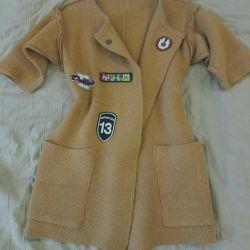 Cape yün ceket
