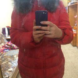 Women's winter down jacket warm