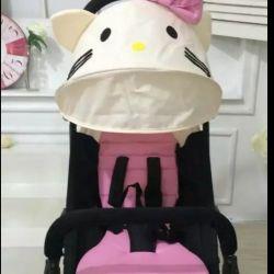 Текстиль та маскітка на коляску YoYo і її аналоги