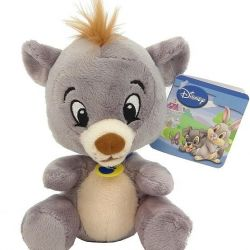 Toy soft Bear Balu, 25 cm. New