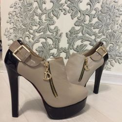 Новые ботильоны туфли