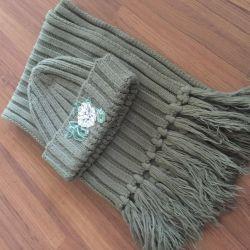 Ρυθμίστε το ζεστό μαντήλι και το καπέλο
