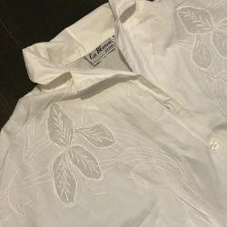 spain new vintage blouse shirt cotton