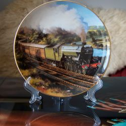 Flying Scotsman England Collector Plate
