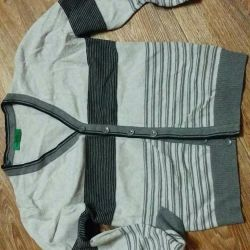 Jacket with buttons for 7-10 years