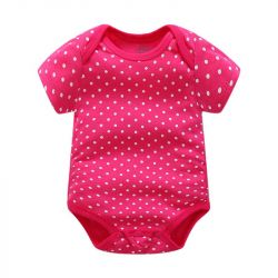 Body Carters Pink White Polka Dot New
