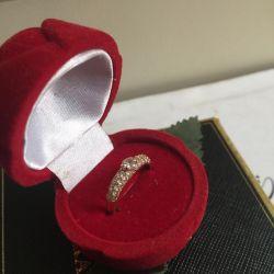 Золото 17разрер (кольцо)