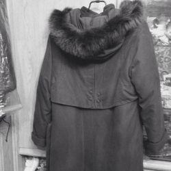 Cloak-coat. New. 46-48 natur.