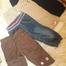 Trousers for children from 74-86r-p