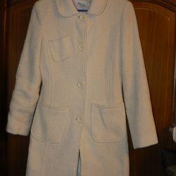 Пальто вовняне розмір 44