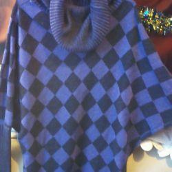 Ζεστό πουκάμισο πουλόβερ