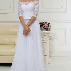 Gentle wedding dress new
