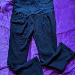 Warm pants for pregnant women