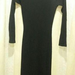 Длинное платье-лапша