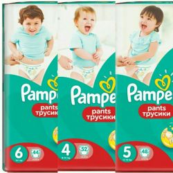 Pants Pampers √4 panties and diapers