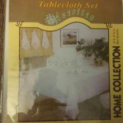 New set. Tablecloth + 12pcs napkins.