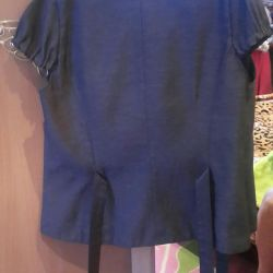 Bir kız için okul üniforması