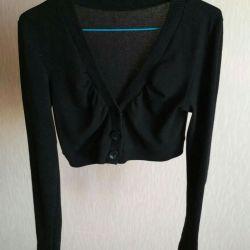 Black bolero (cardigan)