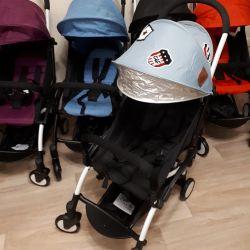 Нова коляска baby yoya колір ковбой