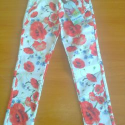 Kızlar için pantolonlar yeni